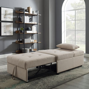 Boone Cream Sofa Bed