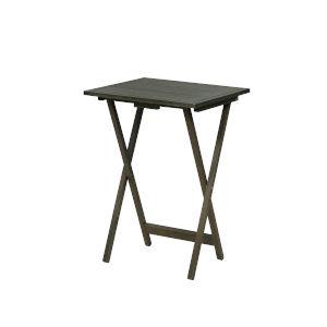 Nora Grey Folding Tray Tables