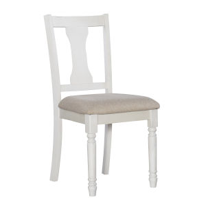 Willow Vanilla White Side Chairs - Set of Two