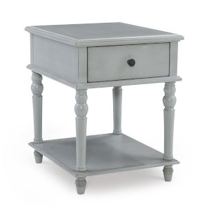 Mcghie Light Grey Side Table