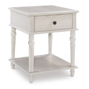 Mcghie White Side Table