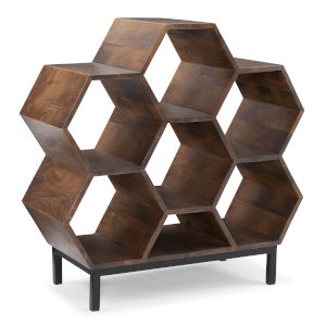 Coram Hazelnut Brown Bookshelf