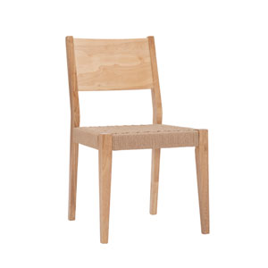 Reagan Natural Dining Chair, Set of 2