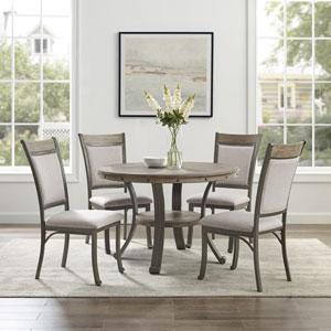 Franklin Pewter Dining Set, 5-Piece
