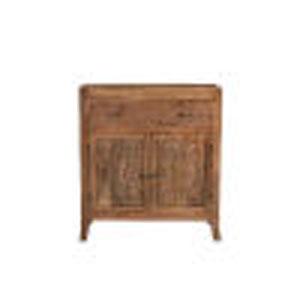 Ambrose Antique Brown Two-Door Cabinet