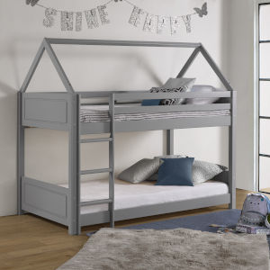 Reign Grey Twin Bunk Bed
