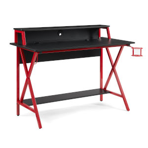 Ian Black Red Desk