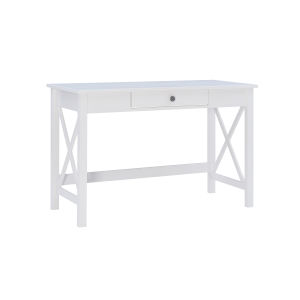 Davis Antique White Laptop Desk