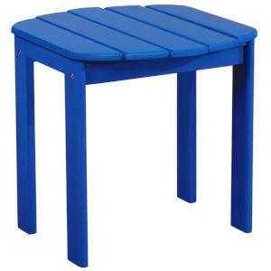 Amara Blue Patio End Table