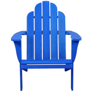Amara Blue Patio Adirondack Chair