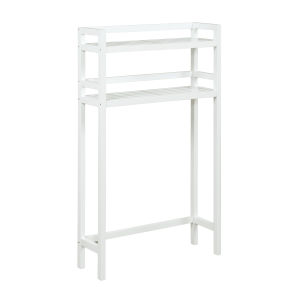Dunnsville White 2-Tier Space Saver