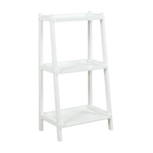 Dunnsville White 3-Tier Ladder Shelf