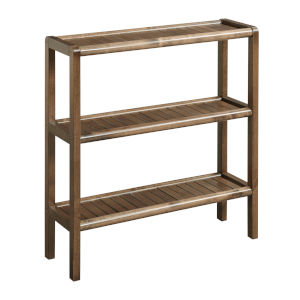 Abingdon Antique Chestnut Shoe Rack