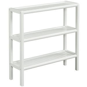 Abingdon White Shoe Rack