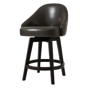 Mansfield Sage 25-Inch Counter Height Swivel Stool
