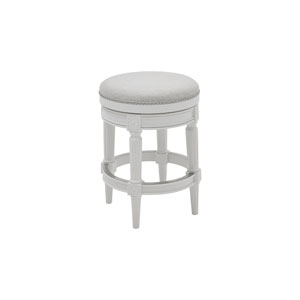 Chapman Alabaster White Backless Counter Height Stool