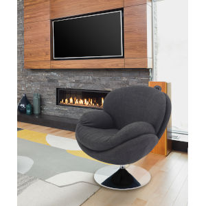 Starke Anthracite Accent Chair