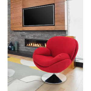 Starke Red Accent Chair