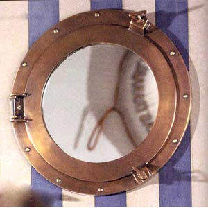 Cabin Porthole Mirror