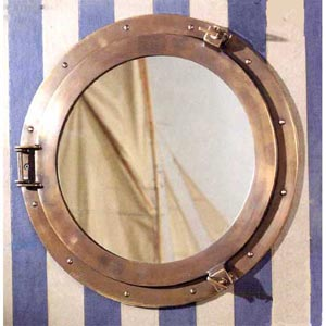 Lounge Porthole Mirror