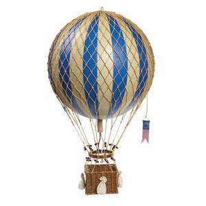 Blue Royal Aero Hot Air Balloon Model