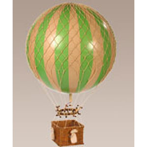 Green Jules Verne Balloon