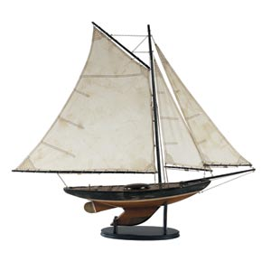 Newport Sloop Model Ship