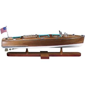 Triple Cockpit Speedboat