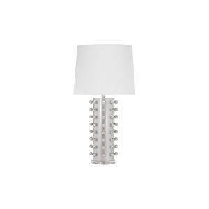 Silver Leaf Ball Studded Table Lamp