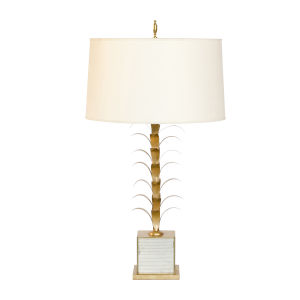 Gold Leaf 26-Inch Table Lamp