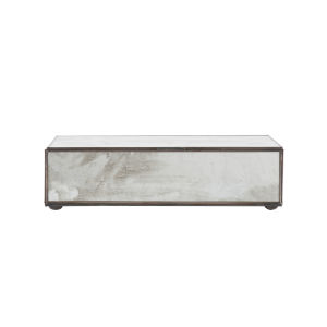 Antique Mirror 9-Inch Rectangular Decorative Box