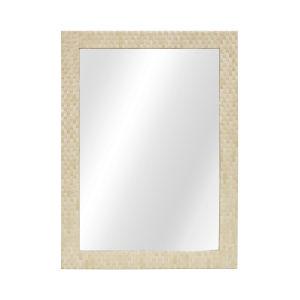 Natural Bone 40-Inch Wall Mirror