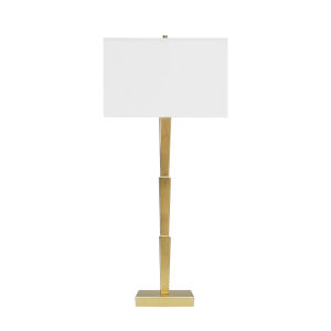 Gold Leaf 32-Inch Table Lamp