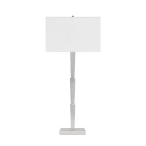 Silver Leaf 32-Inch Table Lamp