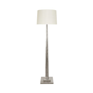 Silver Leaf 67-Inch Floor Lamp