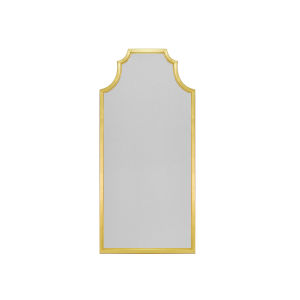Gold Leaf 26-Inch Wall Mirror