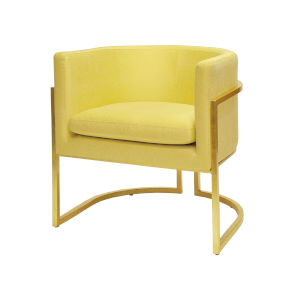Gold Leaf and Citron Chair