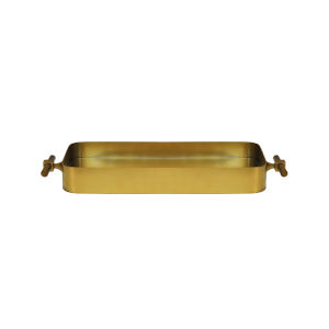 Antique Brass 25-Inch Tray