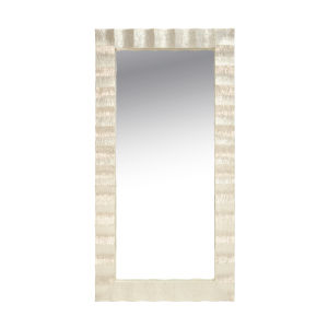 Capiz Shell Rectangular Floor Mirror