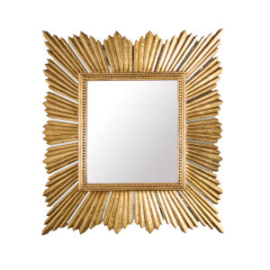 Gold Leaf 40-Inch Wall Mirror