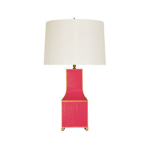 Pink and Gold Table Lamp