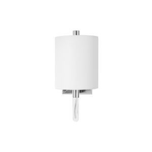 Polished Nickel and Acrylic Wall Sconce