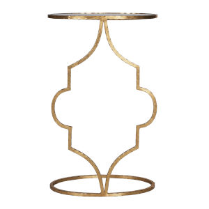 Gold Leaf 16-Inch End Table