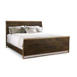 Modern Artisans Brown California King Bed