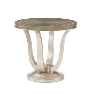 Compositions Avondale Gray End Table