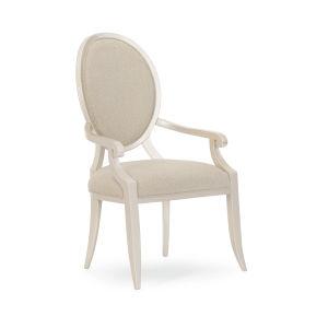 Compositions Avondale Beige Arm Chair