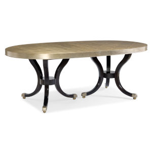 Classic Gold Draw Attention Dining Table