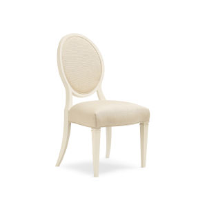 Classic Beige Taste-Full Side Dining Chair