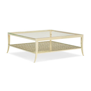 Classic Gold Pattern Recognition Coffee Table