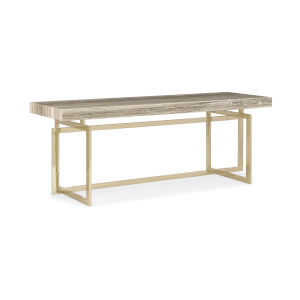 Classic Beige Console Table